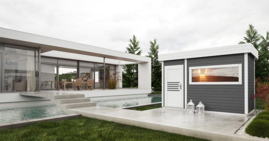 sauna zewnętrzna magnolia