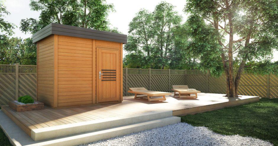 sauna zewnętrzna prymulka